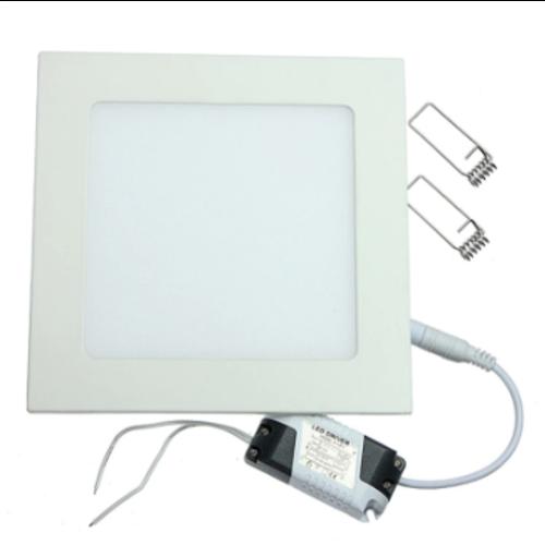 Dalle LED 30x30 24W carré encastrable