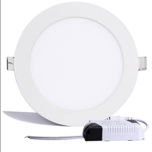 Inbouw LED paneel 12W rond 170mm diameter dimbaar