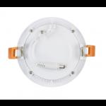 Inbouwspot 120mm diameter plat rond LED 6W dimbaar