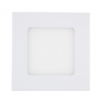 Spot LED encastrable extra plat 6W dimmable carré 120x120 mm