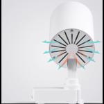 Projecteur LED sur rail 20W blanc ou noir