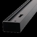 Rail monophase blanc ou noir 2 mètres