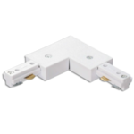 L-connector 3 fase wit of zwart