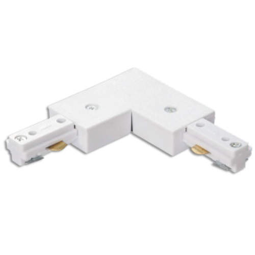 L-connector 3 fase wit