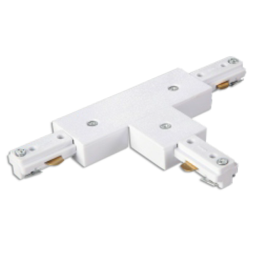 T-connector 3 fase wit