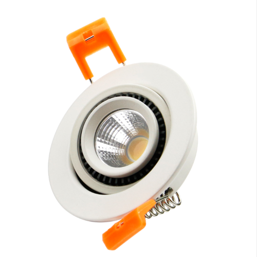 Spot LED encastrable diamètre percage 60 mm LED 5W faible profondeur