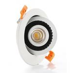 Kantelbare inbouwspot 15W LED zaagmaat 110mm dimbaar