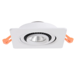 Spot LED extra plat 10W blanc, noir dimmable pas besoin de transfo