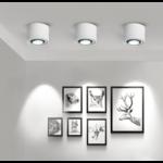 Spot en saillie blanc LED 7 ou 15W orientable dimmable design
