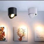Richtbare spot zwart LED 7W of 15W richtbaar dimbaar
