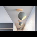 Plafondlamp bol wit, zwart of grijs Scandinavisch