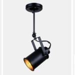 Stoere plafondspot richtbaar E27 lampvoet