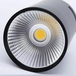 LED opbouw spot wit of zwart 7W dimbaar