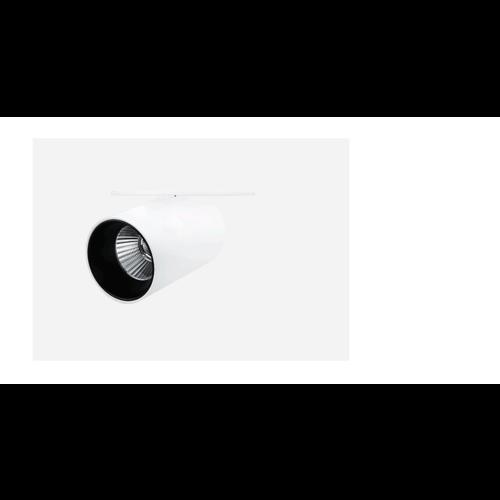 Inbouwspot koker LED 10W wit of zwart