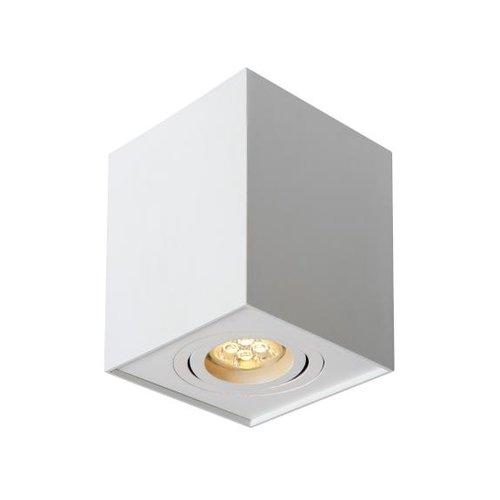 Spot plafond GU10 carré blanc 230V