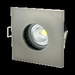 Waterdichte spot IP65 vierkant grijs badkamer