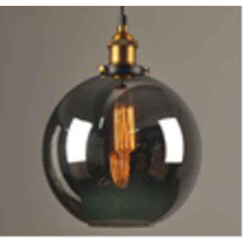 Glas hanglamp 25cm diameter