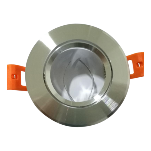 Inbouwspot GU10 aluminium 80 mm zaagmaat