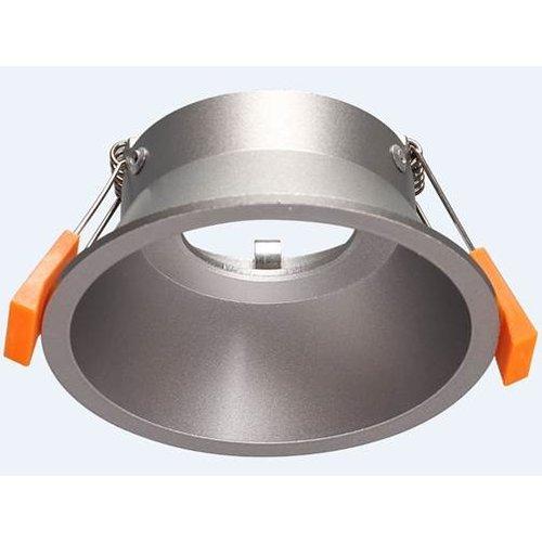 Aluminium inbouwspot GU10 diameter 100mm