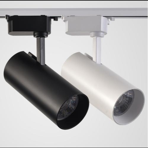 Railspot zwart of wit LED 40W dimbaar