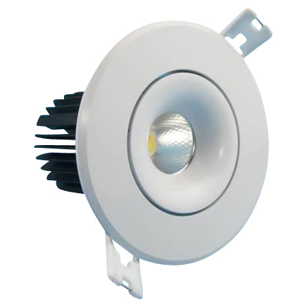 spot encastrable design, spot encastrable LED dimmable, gros spot encastrable, spot encastrable pour magasin
