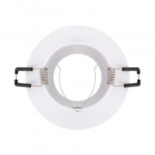 Spot encastrable 220V diamètre 100 mm GU10 blanc