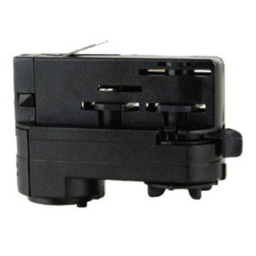 Driefasige connector voor rail zwart of wit