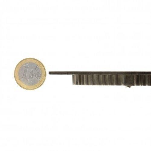 LED spot grijs 18W rond 205mm zaagmaat