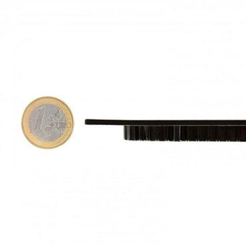 Inbouwspot zwart rond 18W rond 205mm zaagmaat