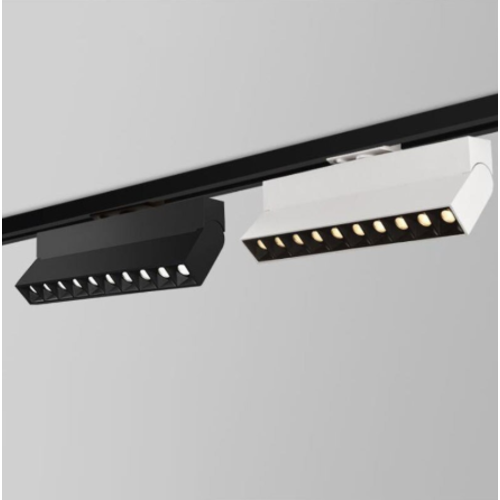 Rail lamp 20W LED zwart of wit dimbaar