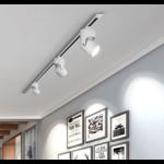 Railverlichting woonkamer 7W LED wit of zwart dimbaar