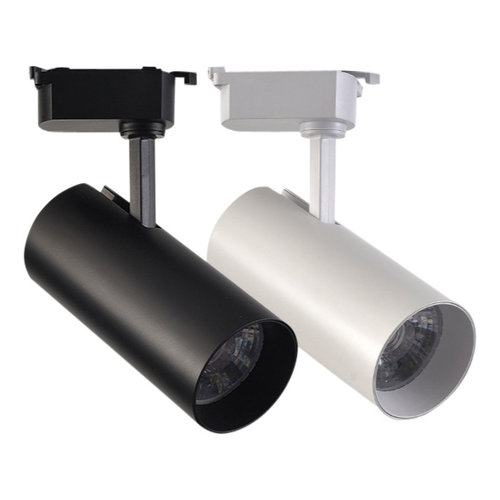 Railverlichting LED 35W wit of zwart dimbaar