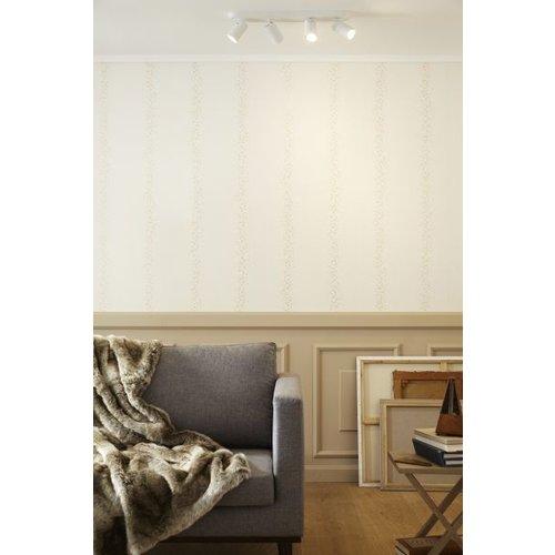 Plafonnier 4 lampes 4x5W LED dim to warm blanc ou noir