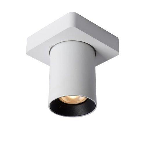 Spot plafond incliné 5W LED dim to warm blanc ou noir