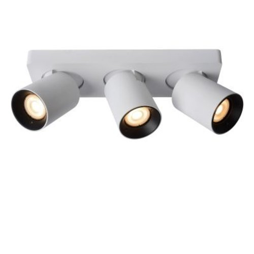Rampe 3 spots LED 3x5W dim to warm noir ou blanc