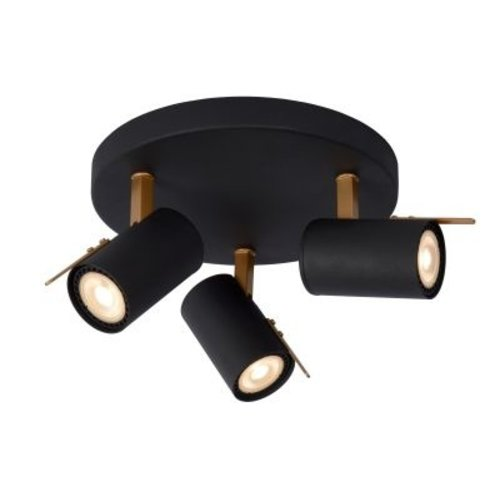 Plafond lamp spots 3x5W LED dim to warm richtbaar