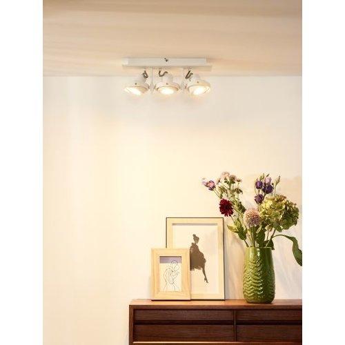 Plafondspot keuken 3x5W LED dim to warm wit of grijs