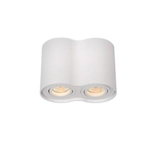 Plafondlamp hal 2xGU10 wit of grijs 230 V