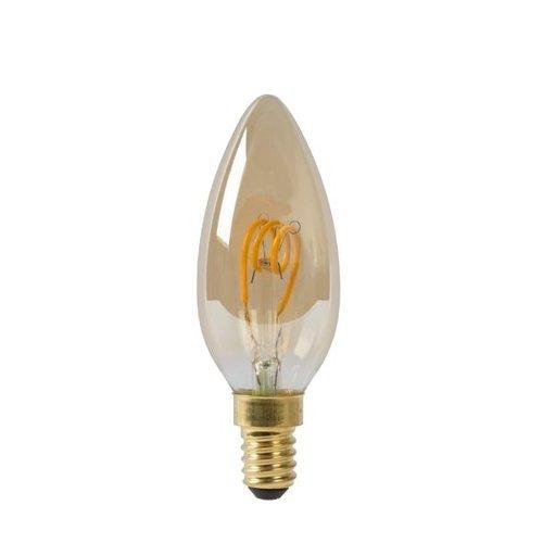 LED kaarslamp 3 W amber (2200 Kelvin) dimbaar