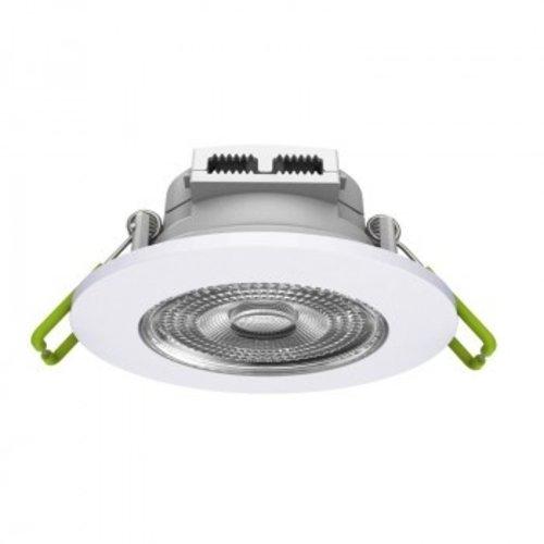 Inbouwspot LED 230V 6W lage inbouwdiepte 78mm zaagmaat