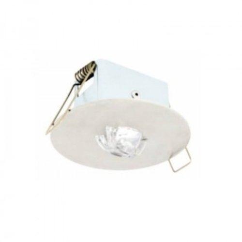 Lumière de sécurité encastrable 120 lumen 1h autonomie optique