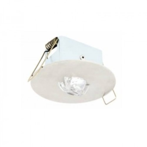 Noodverlichting LED inbouw 120 lumen 1 uur autonomie optisch