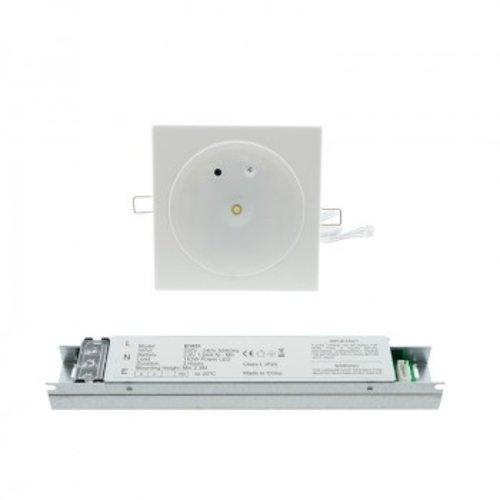 Lampe secours coupure courant 3W LED 3h autonomie