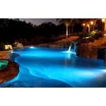 Zwembadverlichting LED inbouw IP68 24W RGB