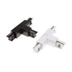 T-connector 3 fase wit of zwart