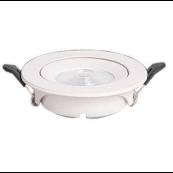 LED spot met dimmer inbouw 5W wit of grijs 3 staps dimmer