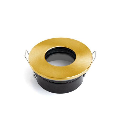 Spot encastrable IP65 GU10 chrome, noir, blanc, doré
