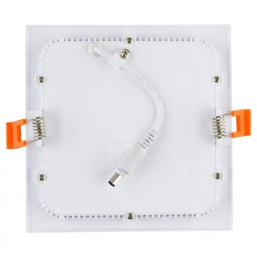 LED paneel 20x20 cm dimbaar-niet dimbaar lage inbouwhoogte