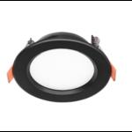 Spot encastrable extra plat pour faible profondeur 12W LED noir