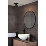 Spot salle de bain orientable blanc ou noir GU10 1x5W LED dim to warm